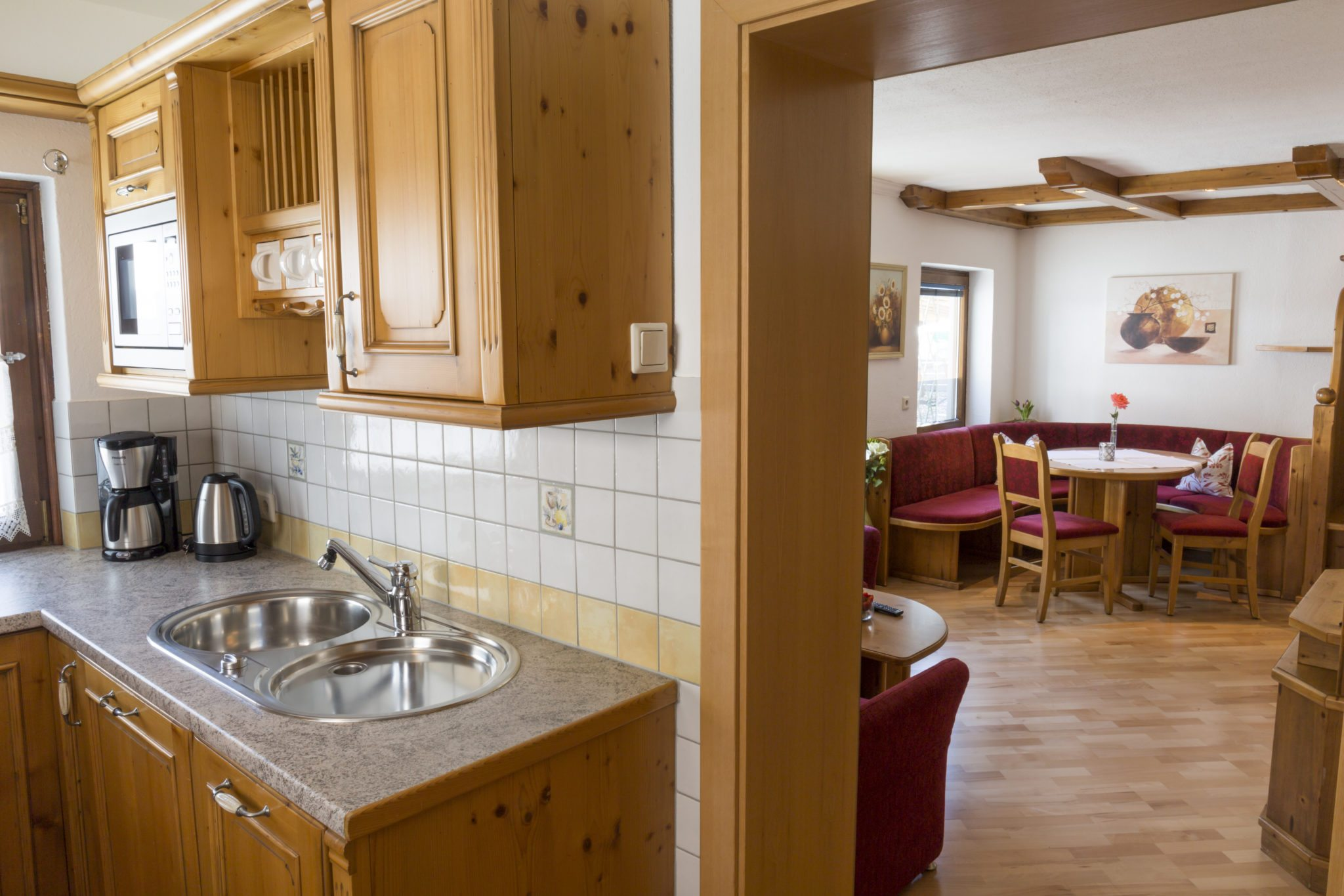 App 3 Küche Wohnz. - Haus Hubertus Wagrain