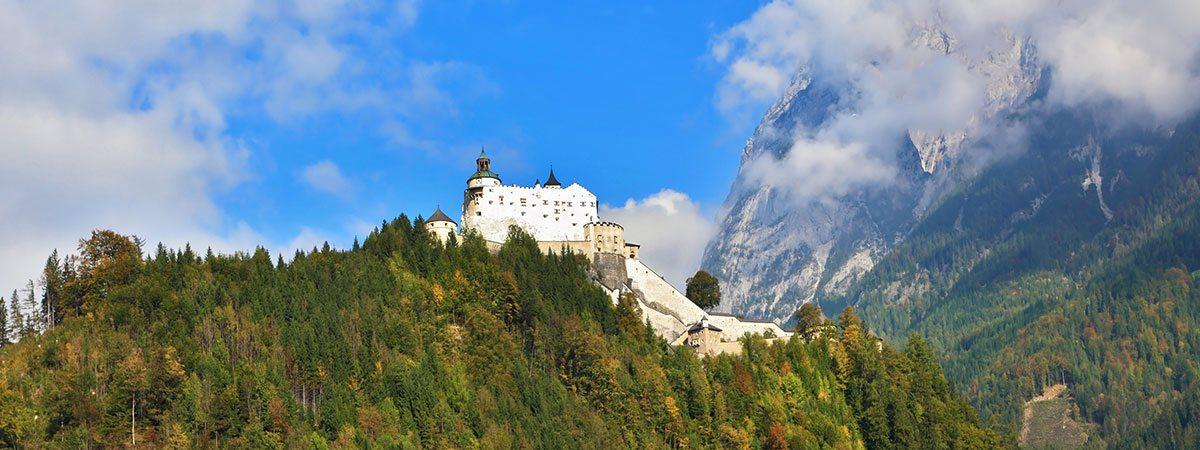 Ausflugsziel Burg Hohenwerfen, Salzburger Land