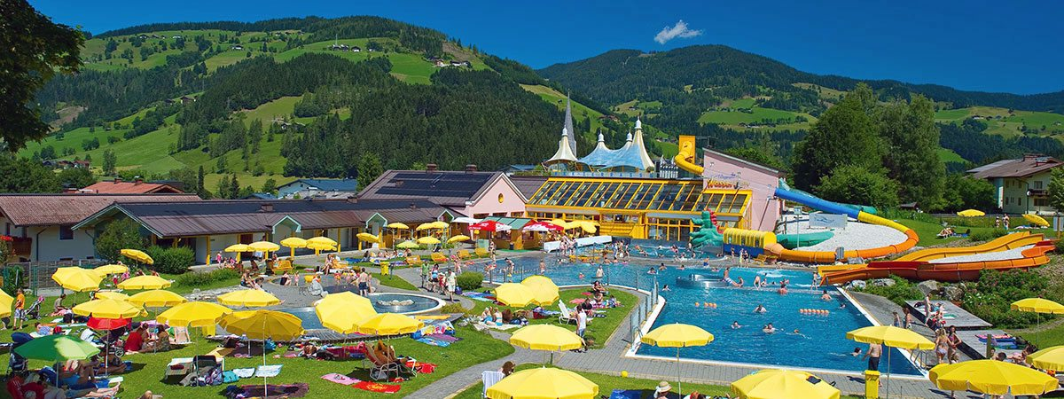 Ausflugsziel Erlebnisbad Wasserwelt Wagrain, Salzburger Land