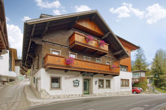 Kontakt & Anreise zu den Ferienwohnungen & Zimmern im Haus Hubertus in Wagrain, Salzburger Land