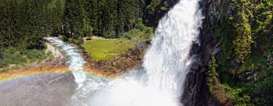 Ausflugsziel Krimmler Wasserfälle, Salzburger Land