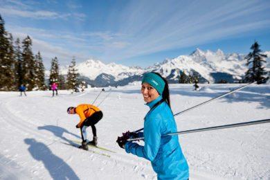 Langlaufen in der Salzburger Sportwelt