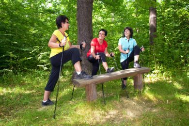Nordic Walking im Sommerurlaub in Wagrain