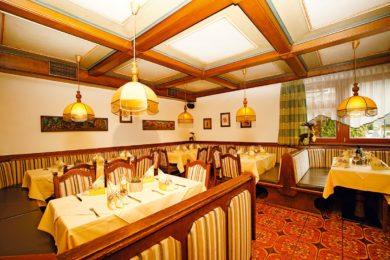 Restaurant in Wagrain, Haus Hubertus