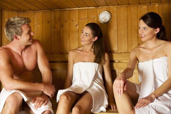 Sauna - Haus Hubertus in Wagrain, Salzburger Land
