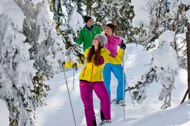 Schneeschuhwandern in der Salzburger Sportwelt