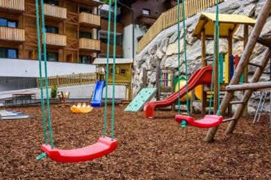 Spielplatz im Haus Hubertus - Wagrain, Salzburger Land