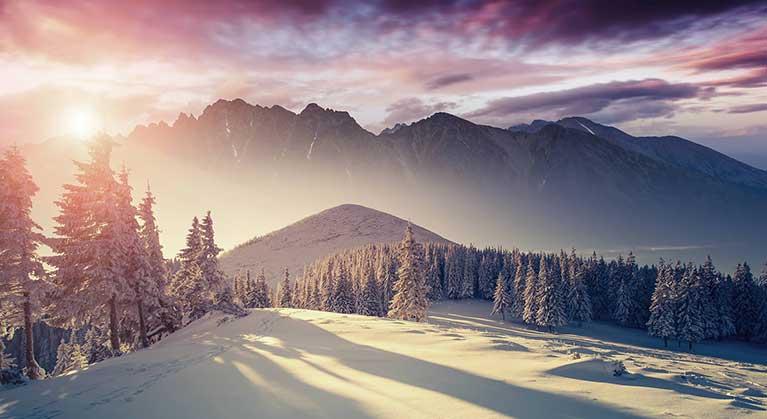 Winterurlaub im Salzburger Land - Hotel Hubertus in Wagrain